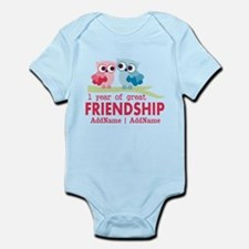 1st Anniversary Personalized Infant Bodysuit