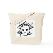 Skull Graduate Tote Bag