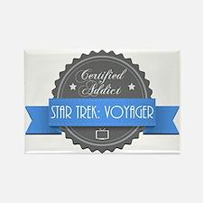 Certified Star Trek: Voyager Addict Rectangle Magn