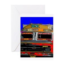 Indian Lorry Greeting Cards