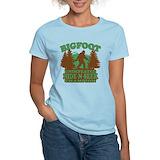 Bigfoot Women's Light T-Shirt