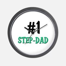 Number 1 STEP-DAD Wall Clock