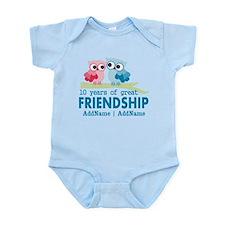 Gift For 10th Wedding Anniversary Infant Bodysuit