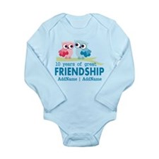 Gift For 10th Wedding Long Sleeve Infant Bodysuit