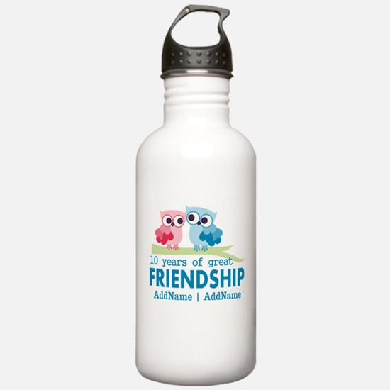 Gift For 10th Wedding Water Bottle
