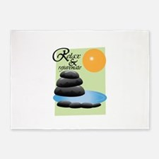 Relax Rejuvenate 5'x7'Area Rug