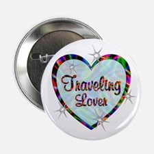 "Traveling Lover 2.25"" Button"
