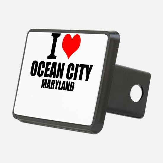 I Love Ocean City, Maryland Hitch Cover