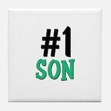 Number 1 SON Tile Coaster