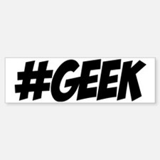 Geek Bumper Bumper Sticker