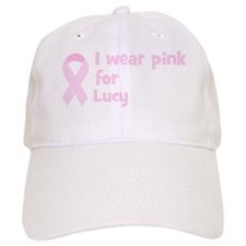 Wear pink for Lucy Baseball Cap