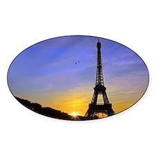 Eiffel Tower Sunset Decal