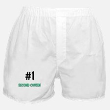 Number 1 SECOND COUSIN Boxer Shorts