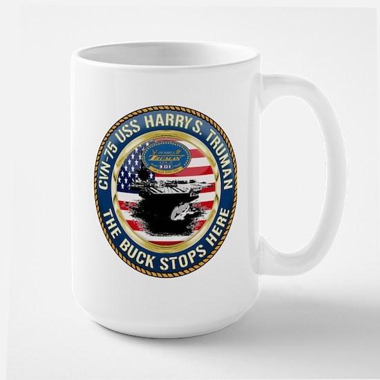 CVN-75 USS Harry S. Truman Large Mug