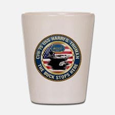 CVN-75 USS Harry S. Truman Shot Glass