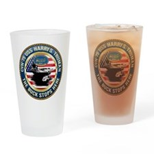 CVN-75 USS Harry S. Truman Drinking Glass