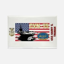 CVN-75 USS Harry S. Truman Rectangle Magnet