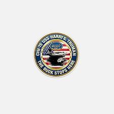 CVN-75 USS Harry S. Truman Mini Button