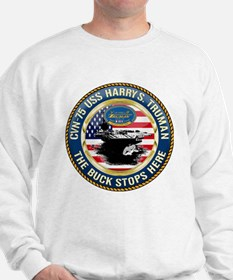 CVN-75 USS Harry S. Truman Sweatshirt