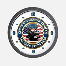 CVN-75 USS Harry S. Truman Wall Clock