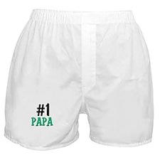 Number 1 PAPA Boxer Shorts