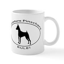 MINIATURE PINSCHERS RULE Mugs