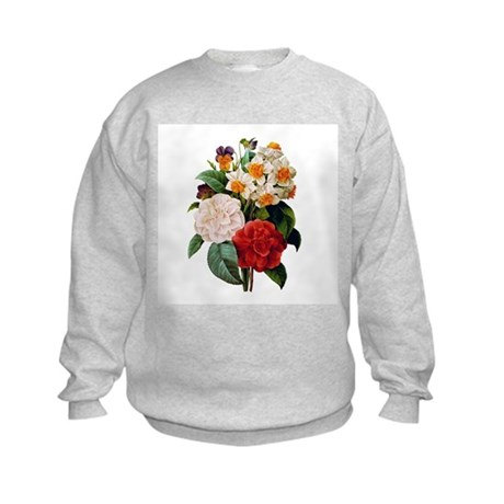CAMELIA BOUQUET Kids Sweatshirt