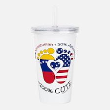 Venezuelan American Baby Acrylic Double-wall Tumbl