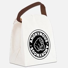 Anonymous Canvas Lunch Bag