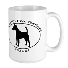 SMOOTH FOX TERRIERS RULE Mugs