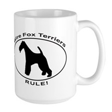WIRE FOX TERRIERS RULE Mugs