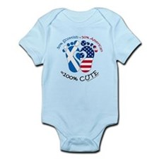Scottish American Baby Body Suit