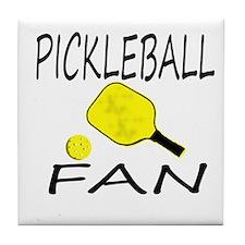 Pickleball Fan Tile Coaster