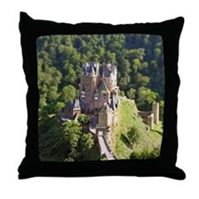 Cute Castles palaces Throw Pillow
