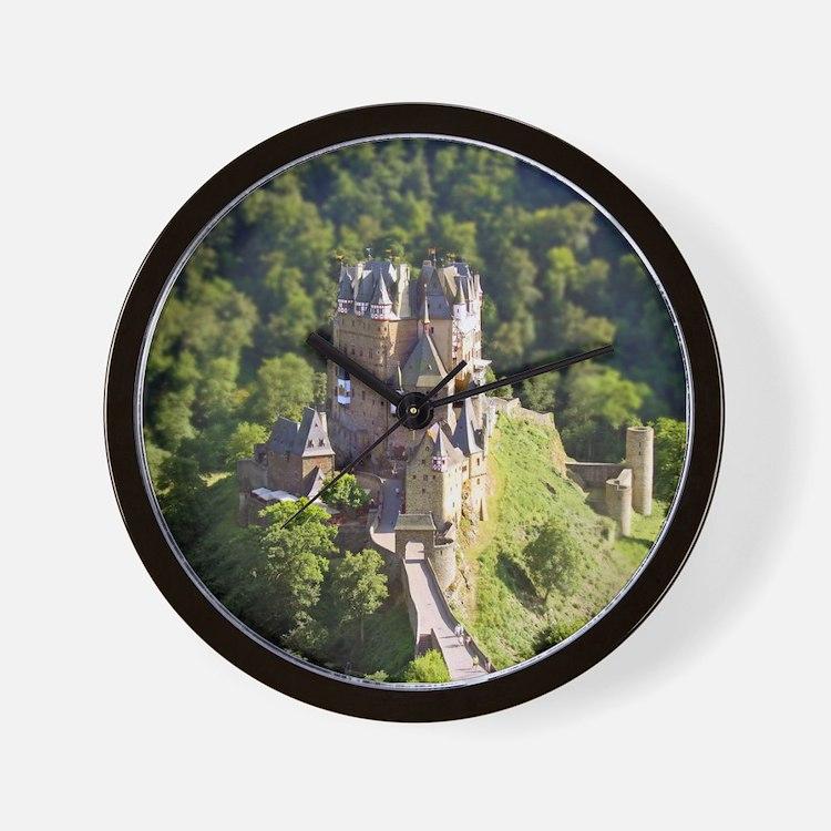 Cute Rhine river Wall Clock