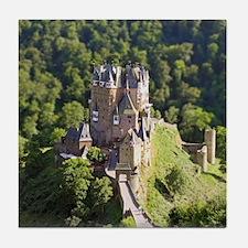 Cute German castle Tile Coaster