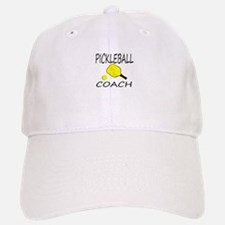 Pickleball coach yellow padd Baseball Baseball Baseball Cap