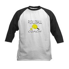 Pickleball coach yellow padd Baseball Jersey