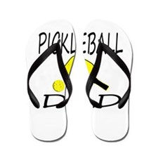 Pickleball Dad Flip Flops