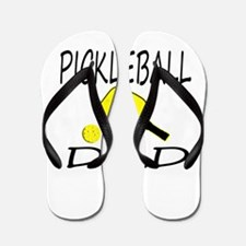 Pickleball Dad Flip Flops