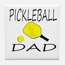 Pickleball Dad Tile Coaster