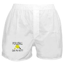 Pickleball Gets Me HOt Boxer Shorts