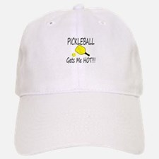 Pickleball Gets Me HOt Baseball Baseball Baseball Cap