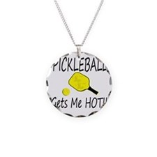 Pickleball Gets Me HOt Necklace