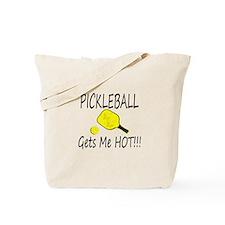 Pickleball Gets Me HOt Tote Bag