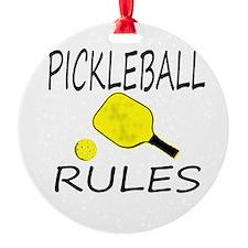 Pickleball Rules Ornament