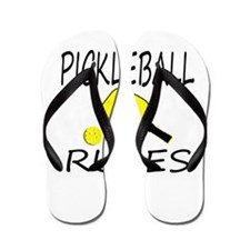 Pickleball Rules Flip Flops