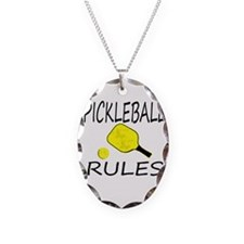 Pickleball Rules Necklace