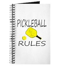 Pickleball Rules Journal