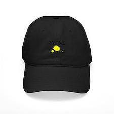 Pickleball with yellow paddle ball Baseball Hat